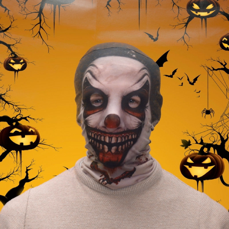 Face Mask - Demon Joker Scary Halloween Face Mask