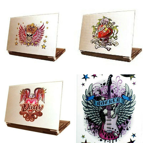 Laptop Tattoo Stickers - Clubit.co.uk