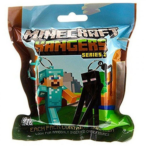 Minecraft Hanger Series 2 Collectable Toy Keychain Figure - Clubit.co.uk