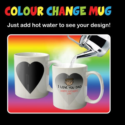 Customisable Colour Changing Mug
