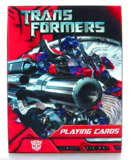 Official Transformers Movie Deck Of Playing Cards