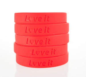 Heart Research UK 'Love It' Charity Wristband