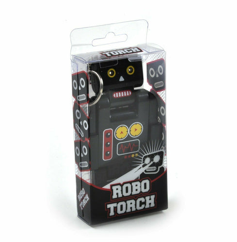 Robo Torch Fun Novelty Keyring