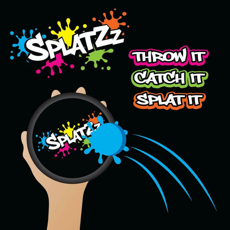 Splatzz Balls Fun Novelty Catch Game