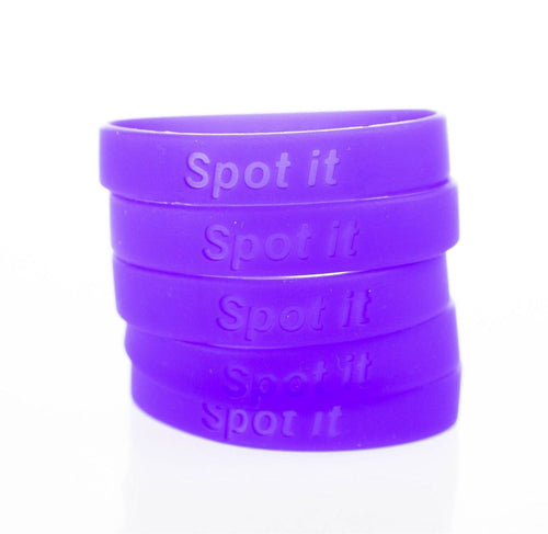 Meningitis Research Foundation 'SPOT IT' Charity Wristband