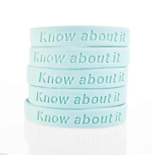Prostate Cancer UK  'Know About It' Charity Wristband