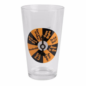 Party Pint Beer Glass Novelty Drinking Game
