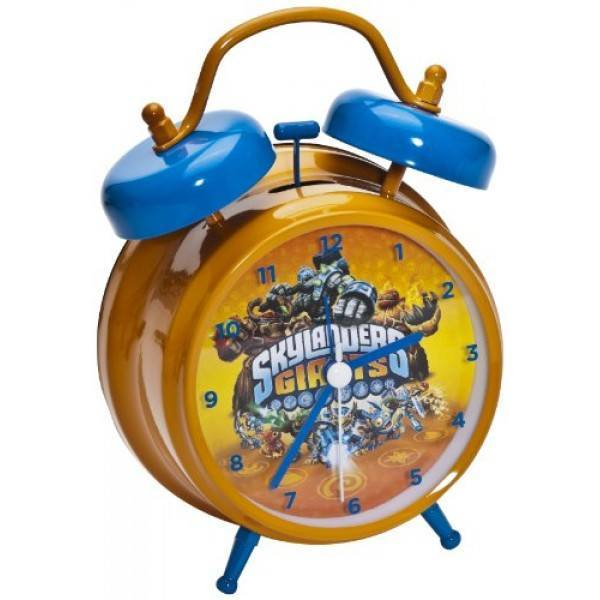 Skylanders Giants Alarm Clock Analogue - Clubit.co.uk