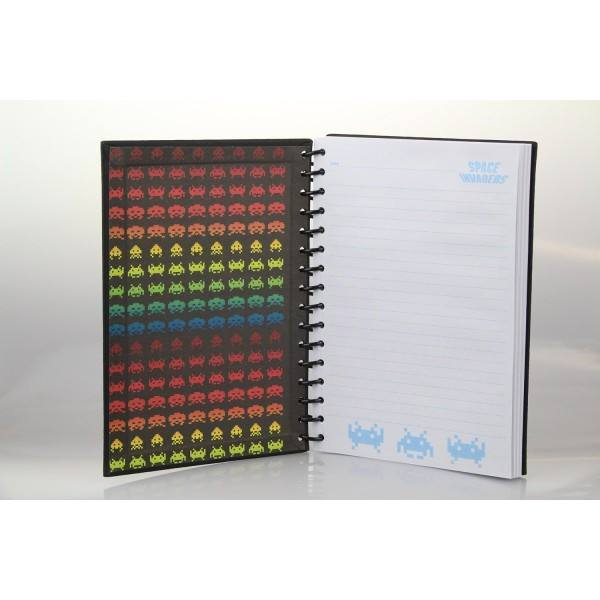 Space Invaders A5 Wiro Notebook - Clubit.co.uk