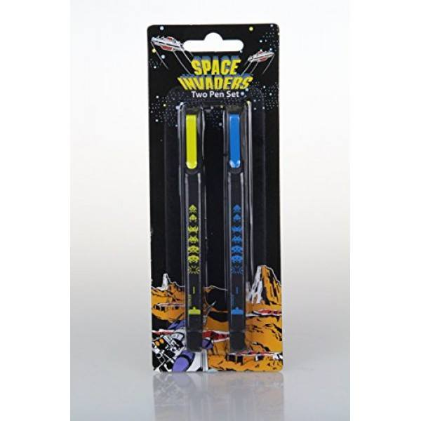 Space Invaders Twin Pack Pen Set - Clubit.co.uk