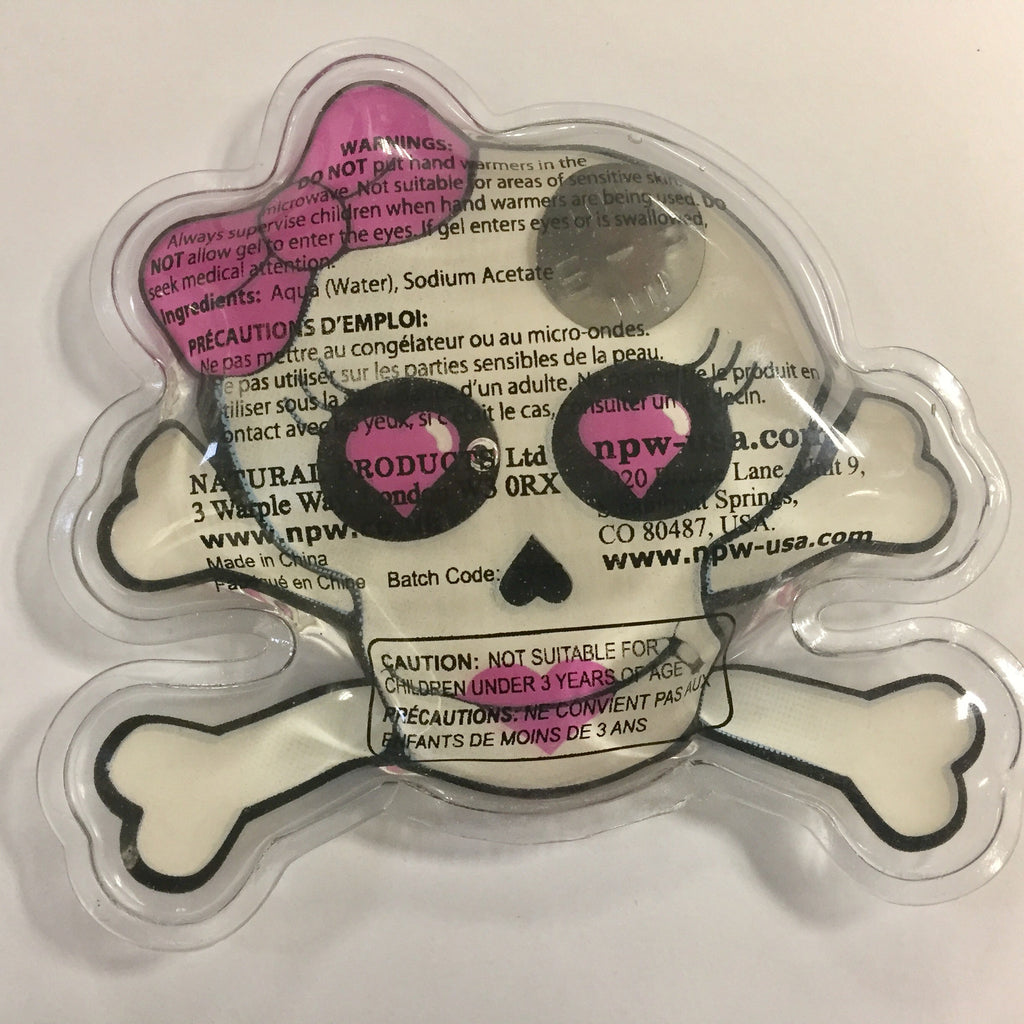 Spooky Halloween Skull And Crossbones Cute Re-usable Hand Warmer