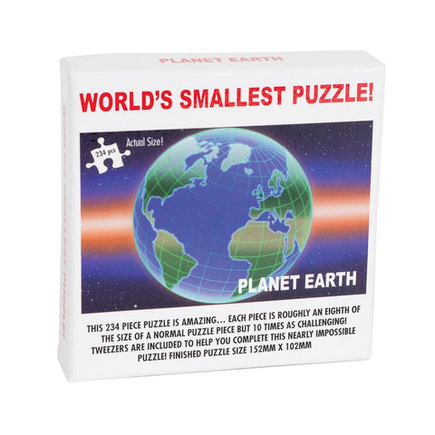 Worlds Smallest Puzzle Planet Earth