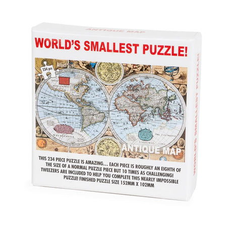 Worlds Smallest Puzzle Antique Map
