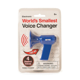World's Smallest Voice Changer
