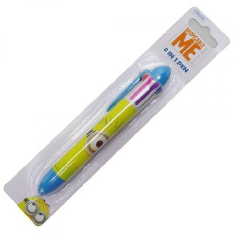 Wholesale Lot of Despicable Me Minions Eight Colours in One Pens - Clubit.co.uk