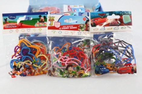 Wholesale lot of Official Disney Bandz - Full Display Box - Clubit.co.uk
