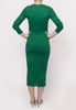 Basic Dress- green