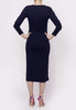 Basic Dress- navy