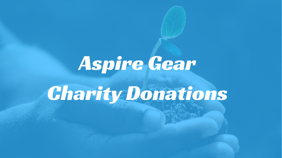 Aspire Gear Charity Donations