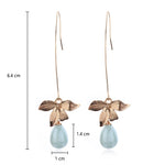 Motherhood Orchid Dangle Earring