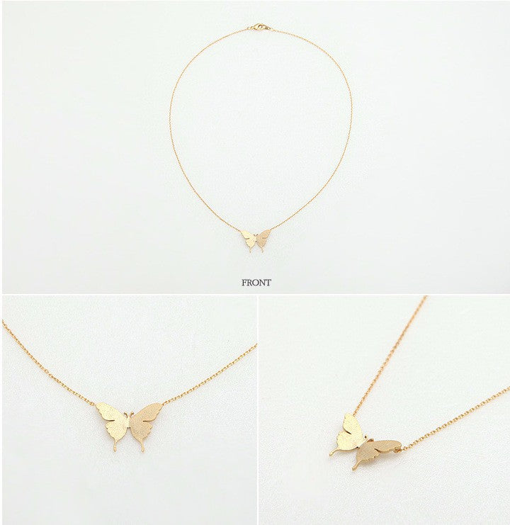 Simple Butterfly Necklace