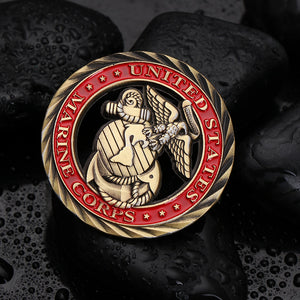 U S  Marine Corps Core Values Challenge Coin – Aspire Gear