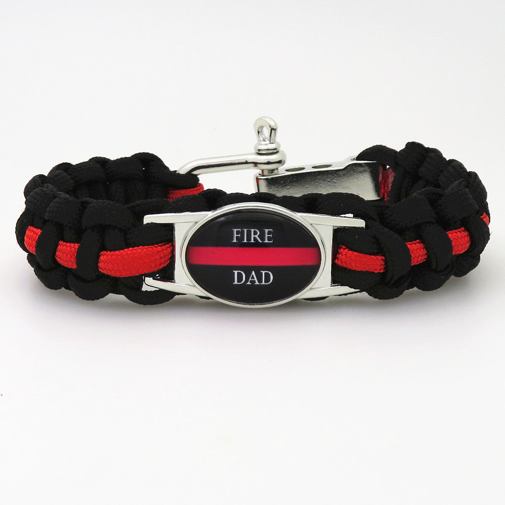 Red Line Paracord Bracelet