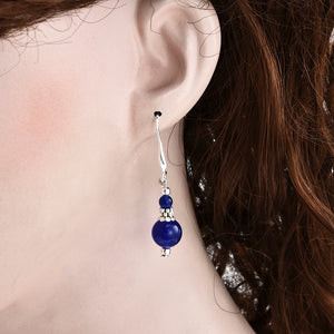 Lapis Lazuli Chic Earrings