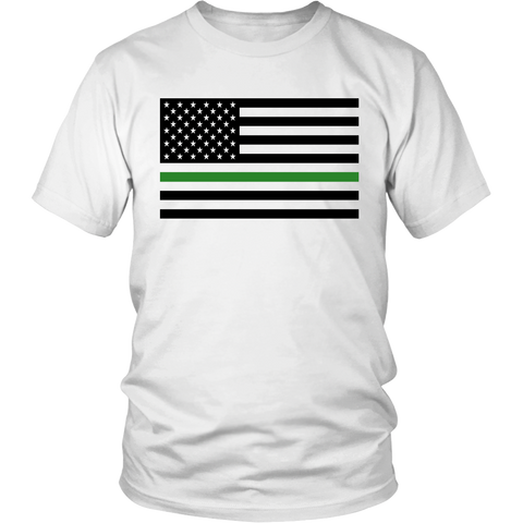 Green Line Flag Shirt