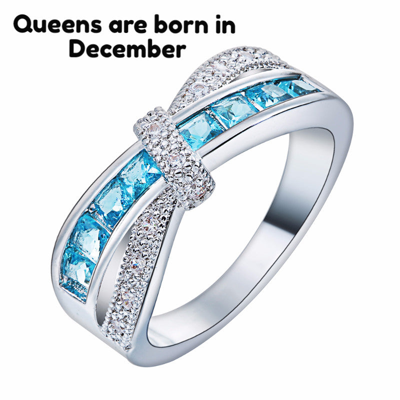 December Birthstone Topaz Ring – Aspire Gear