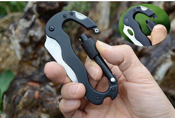 Multi-Purpose Camping Carabiner