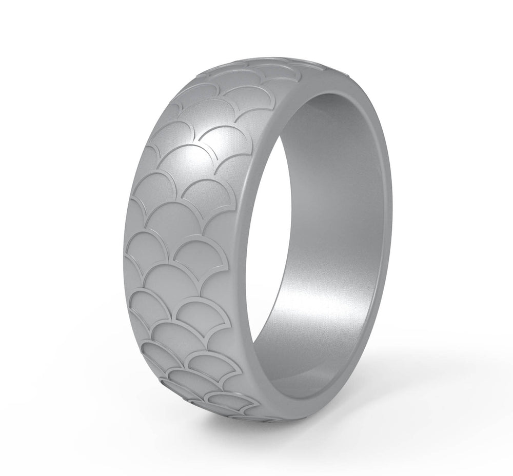 EMS Support Scaled Silicone Ring