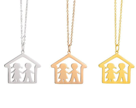 Our Home Boy and Girl Necklace Offer