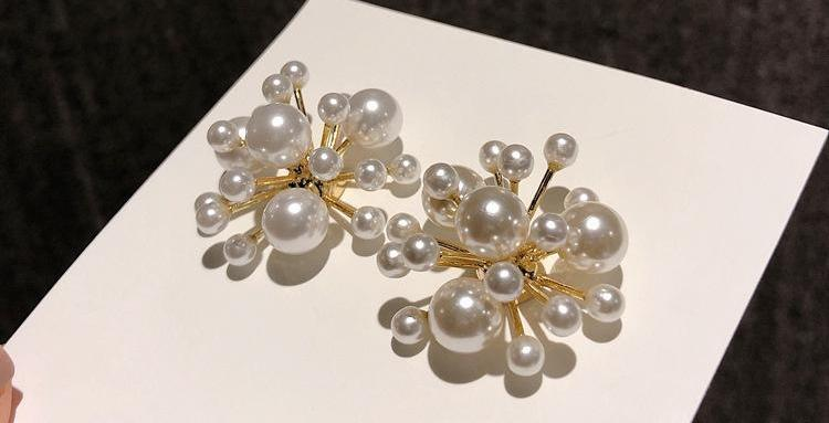 Pearl Fireworks Earrings