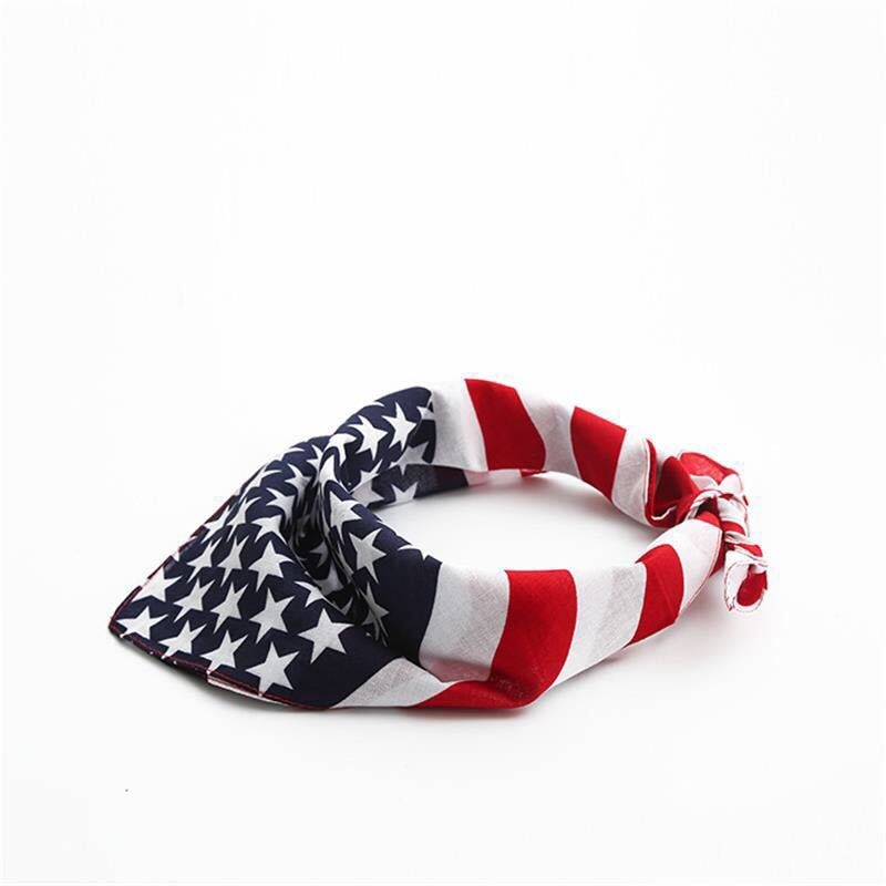 American Flag Dog Bandana
