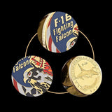 F-16 Fighting Falcon Air Force Challenge Coin