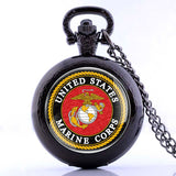 Classic Marine Corps Pocket Watch