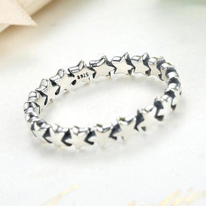 925 Sterling Silver Star Ring