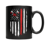 Firefighter Flag Mug