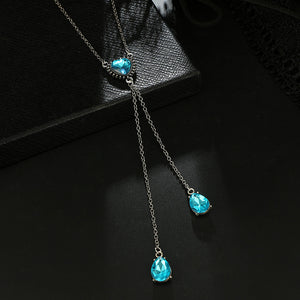 Water Droplets Anti-bullying Awareness Necklace