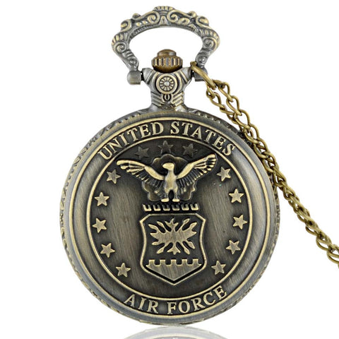 Vintage Air Force Pocket Watch