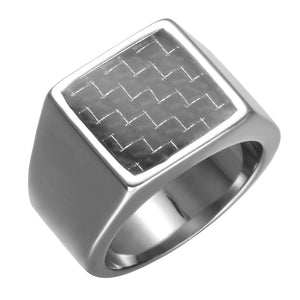 Stainless Steel Steps Ring