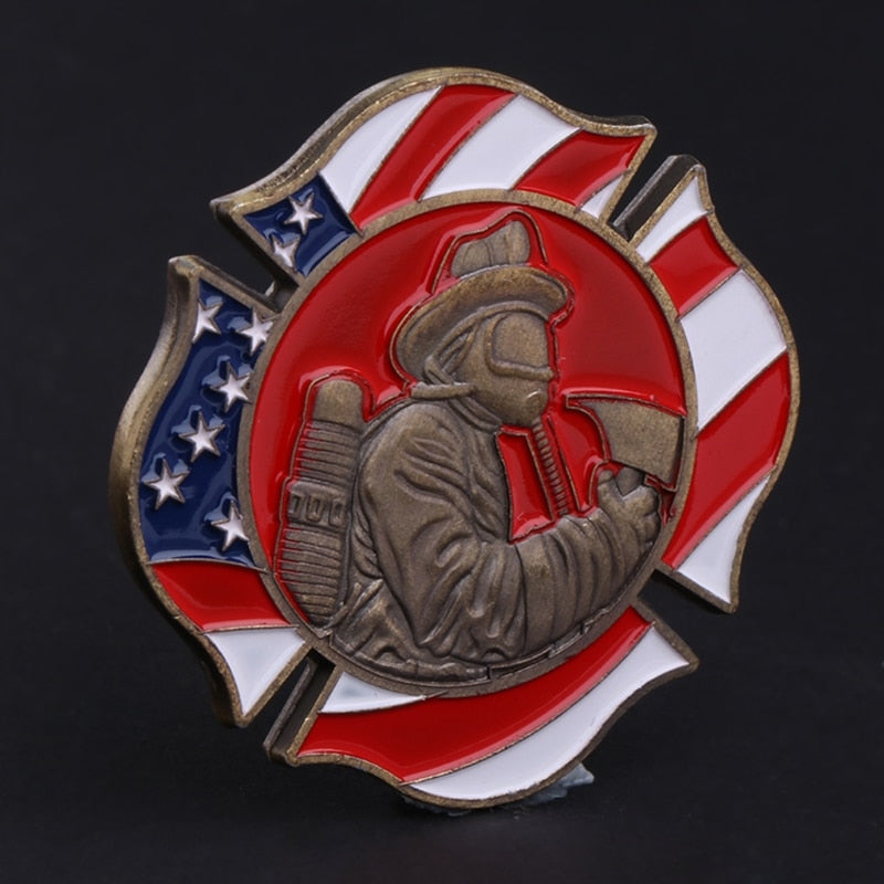 American Firefighting Commemorative Coin