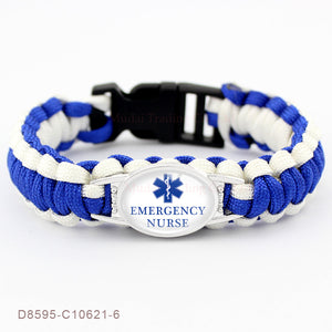 Emergency Nurse Paracord Bracelet