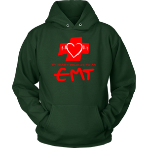 My Heart Belongs to An EMT Sweatshirt