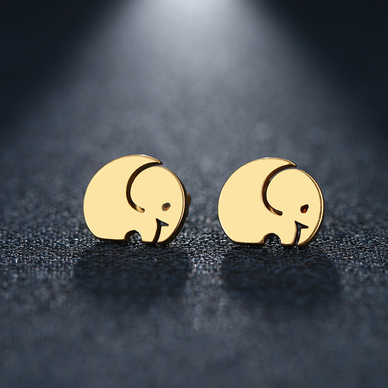 African Elephant Earrings