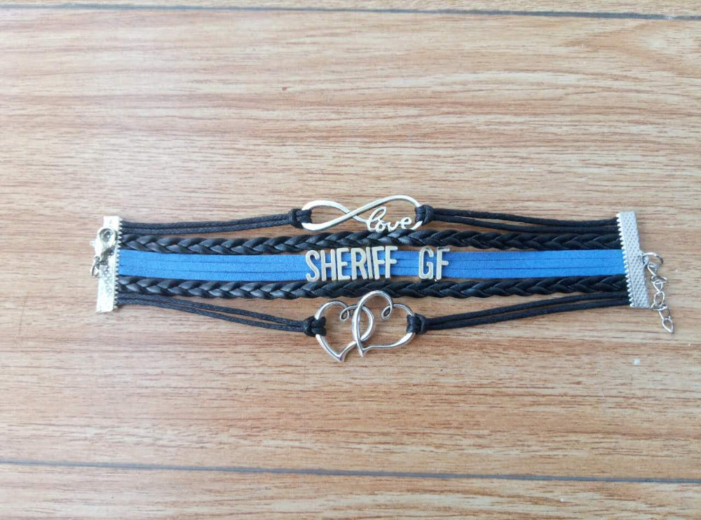 Sheriff Girlfriend Bracelet