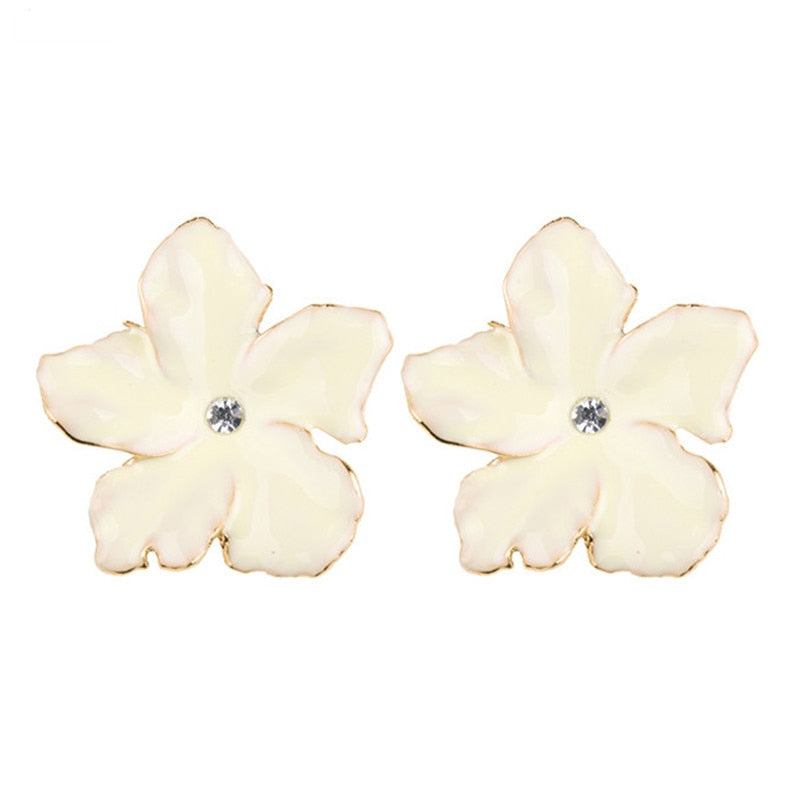 Bone Cancer Awareness Floral Earrings