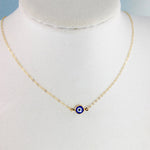 Gold Colon Cancer Awareness Necklace