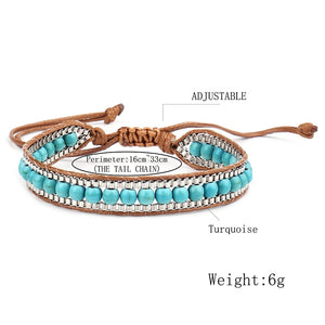 Leather Bohemian Friendship Bracelet